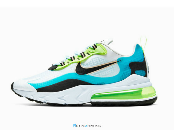 Reydezapatos Nike Air Max 270 React SE 'Oracle Aqua' 4516