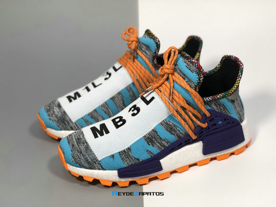 Reydezapatos 0218 - Pharrell Williams x adidas Hu NMD Trail [M. 3]