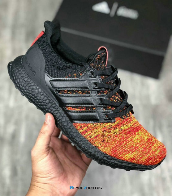 Reydezapatos 0511 - Ultra Boost x Game of Thrones - [Negro/Rojo]