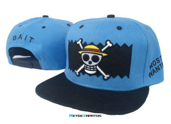 Reydezapatos 0864 - Casquette BAIT Most Wanted [Azul]