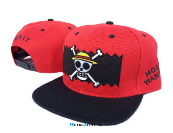 Reydezapatos 0865 - Casquette BAIT Most Wanted [Rojo]