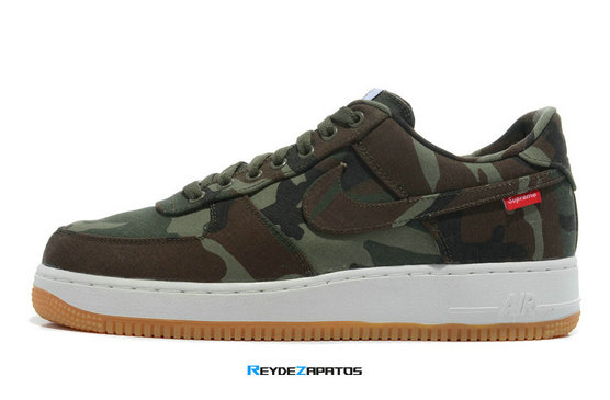 Reydezapatos 3276 - Air Force 1 Low - Camo x Supreme
