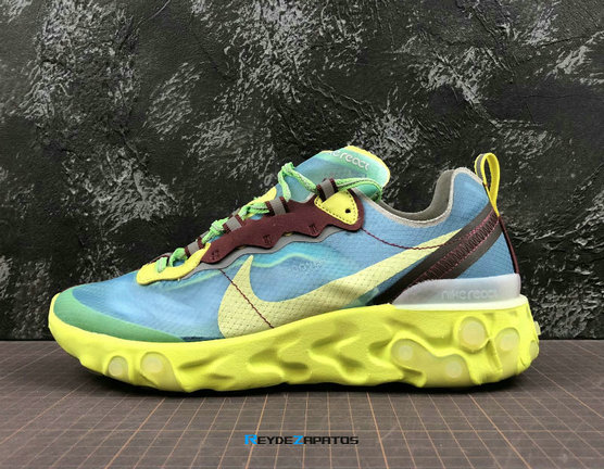 Reydezapatos 3628 - UNDERCOVER x Nike React Element 87 [H. 10]