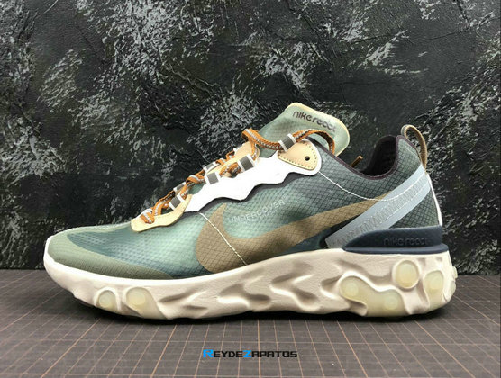 Reydezapatos 3634 - UNDERCOVER x Nike React Element 87 [H. 8]